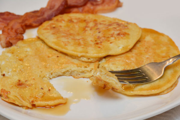 Kid-Friendly Cottage Cheese Pancakes
