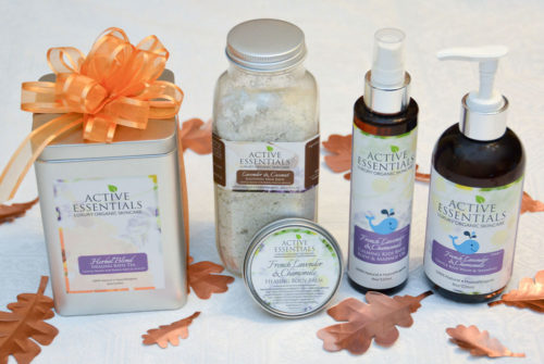 Active Essentials Luxurious Organic Skincare- Mommy Scene Review - ALL natural skincare for the whole family