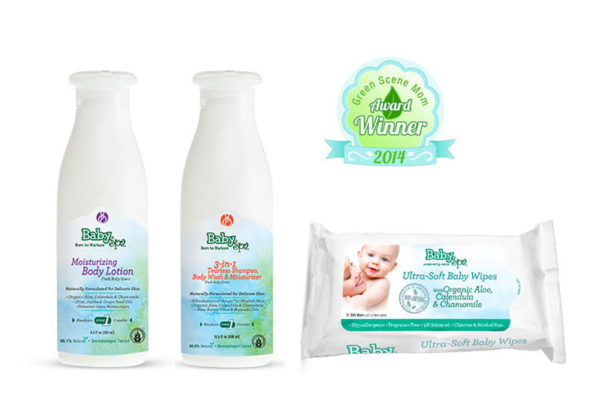 BabySpa Lotion, Baby Wash & Ultra-Soft Baby Wipes