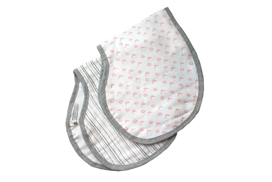 Buttons Diapers Muslin Burp Cloth Bibs