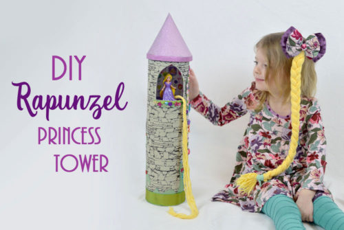 DIY Rapunzel Princess Tower - Mommy Scene