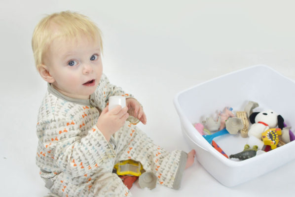 DIY Baby Sensory Bin & Helpful Essentials