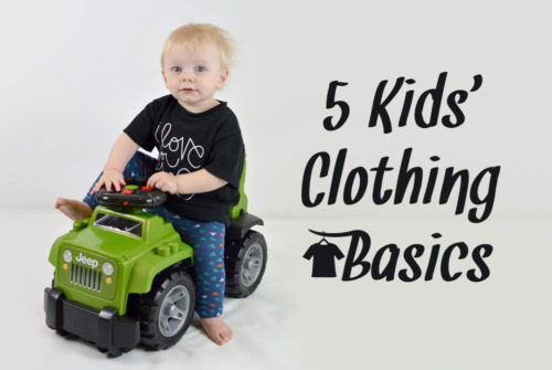 Kids' clothing basics - Mommy Scene