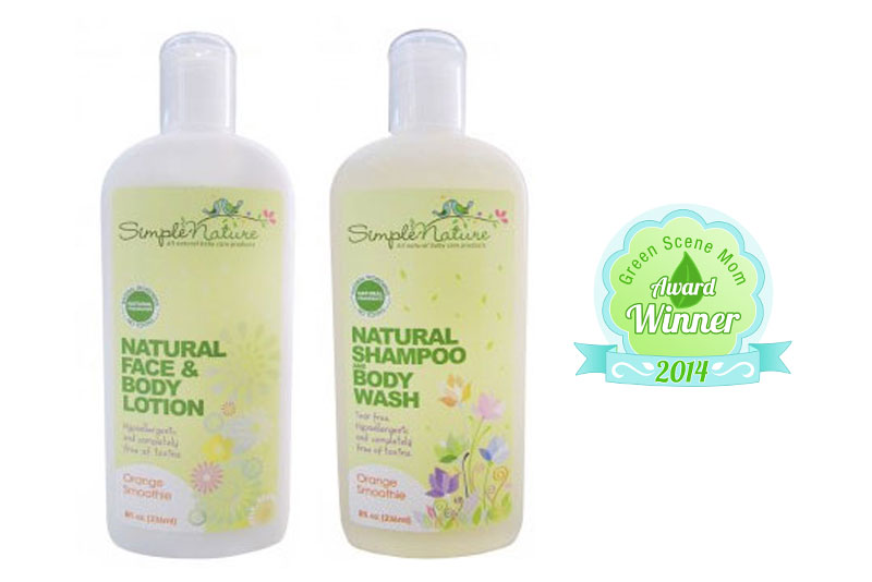 Simple Nature Natural Body Lotion & Shampoo