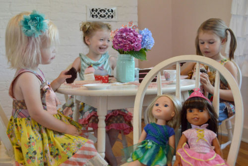Matilda Jane Clothing is perfect for an afternoon tea party - Mommy Scene