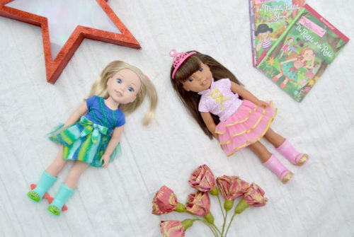 American Girl modern WellieWishers dolls - Mommy Scene review