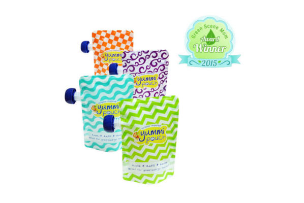 Yummi Pouch Brights Reusable Food Pouches