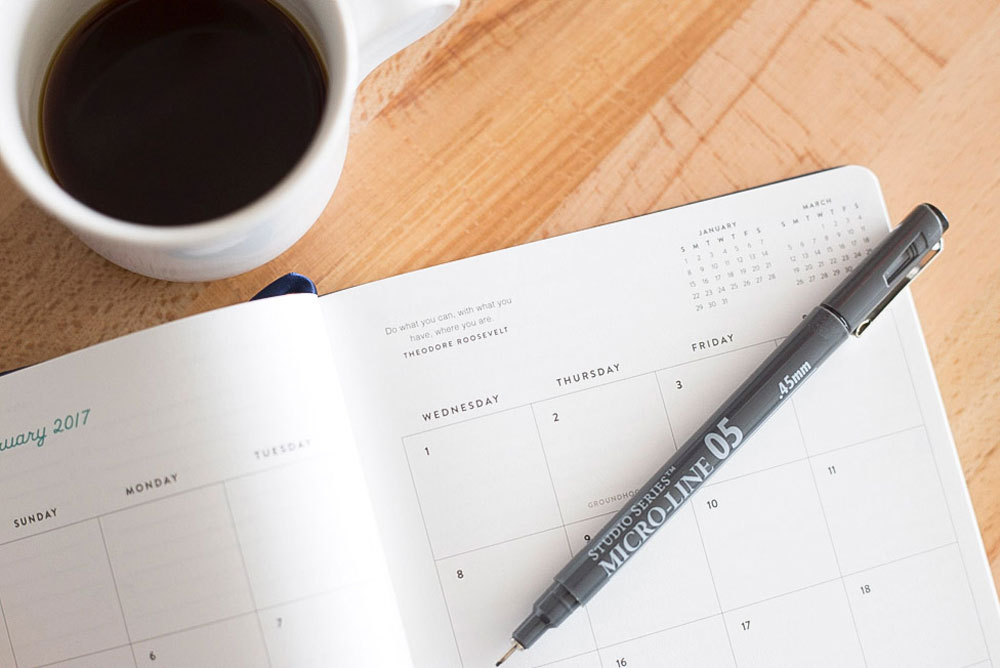Schedule your Life with Emily Ley Simplifed Planner
