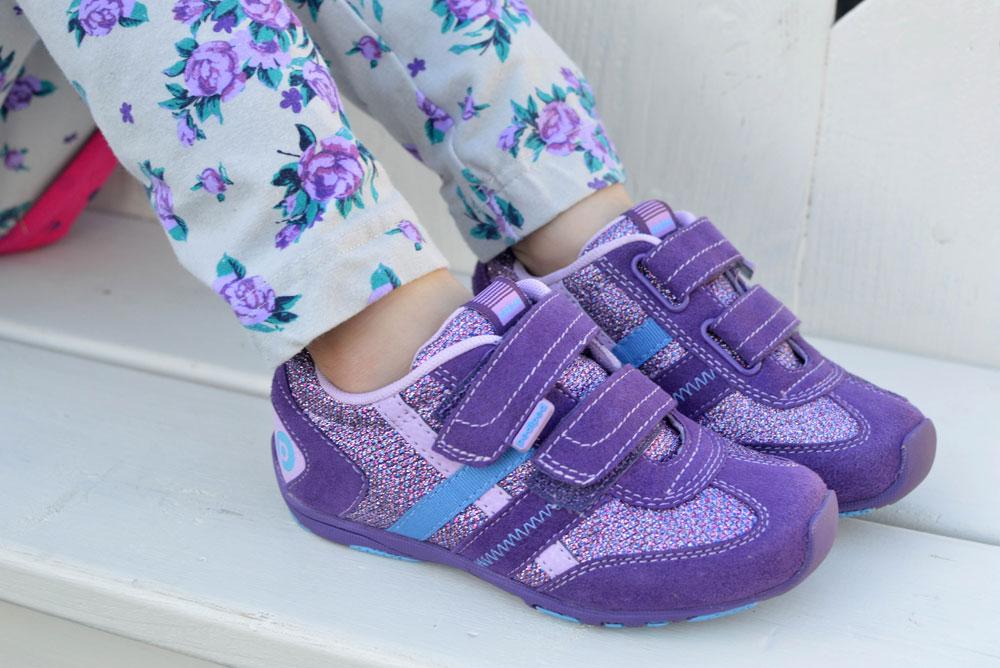 pediped Flex sparkle princess shoes
