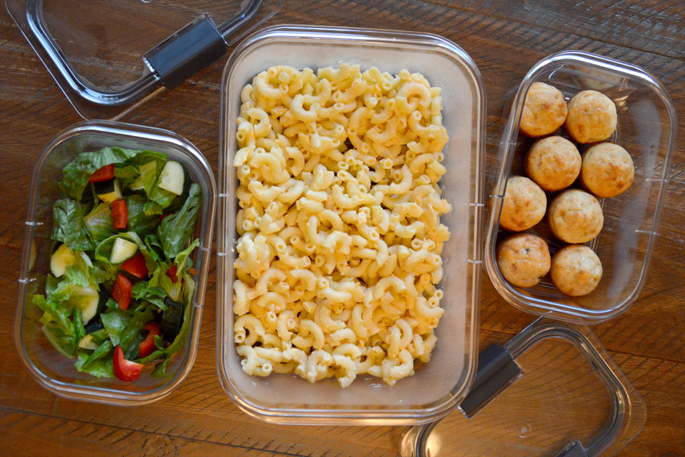 5 Delicious Meal Ideas & Leftover Storage