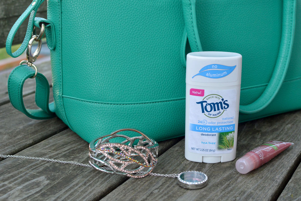 Tom's of Maine natural long lasting deodorant is a purse essential