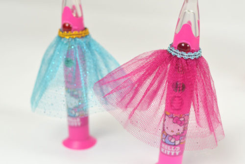 Encourage kids' hygiene with cute tulle toothbrush tutus, barbie shoe soap dispenser and more!