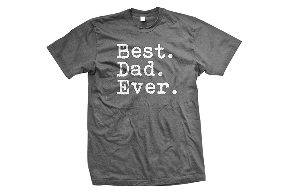 Valentine's Day Gifts for Guys Best Dad Ever Shirt