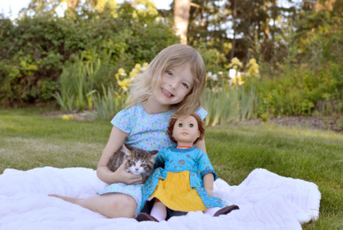 American Girl Felicity Merriman - Mommy Scene