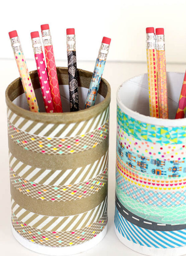 Best DIY Pencil Cup Ideas