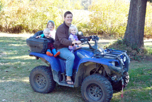 Gift Ideas for Guys and Dads - Kids riding ATV