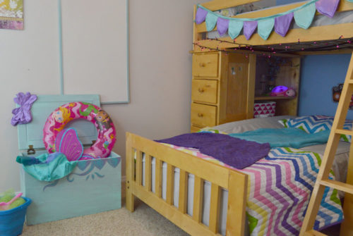Cute Mermaid Kids Room Design - Mommy Scene