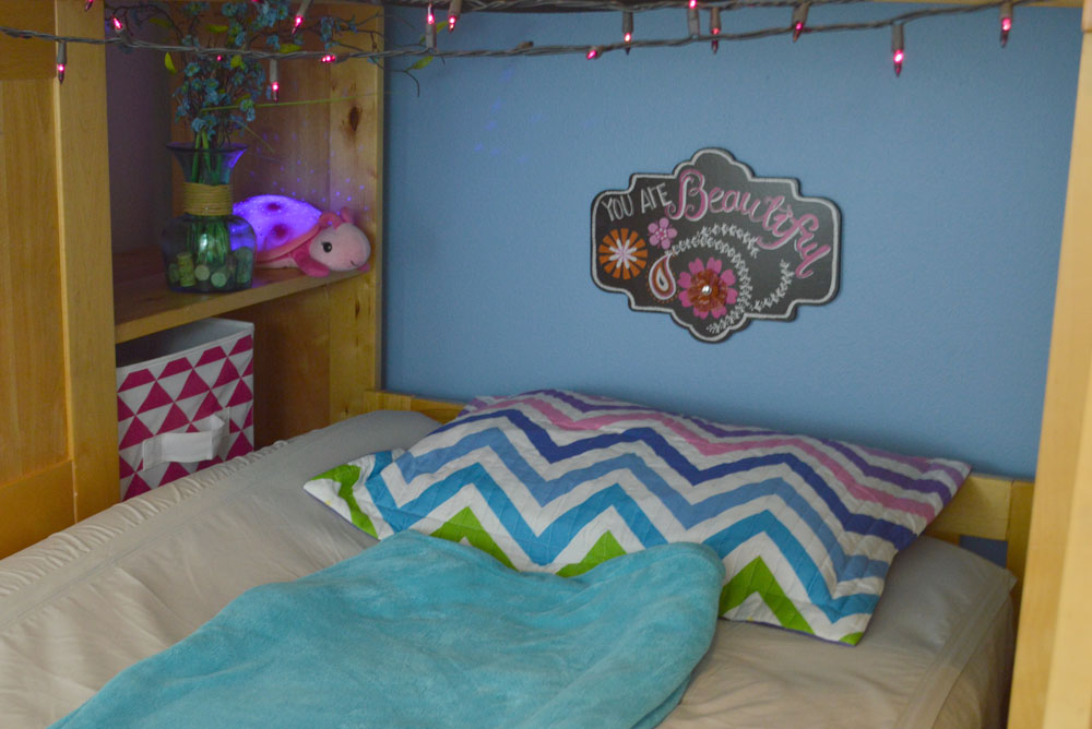 Mermaid Bedroom Redesign & Awesome Bunk Bed Solutions ...