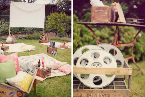 Have a Backyard Movie Night - Mommy Scene