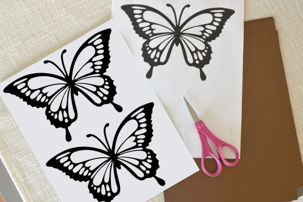 picture relating to Printable Tissue Paper named Butterfly Sunlight Catchers Craft Printable - Develop. Participate in. Drive.