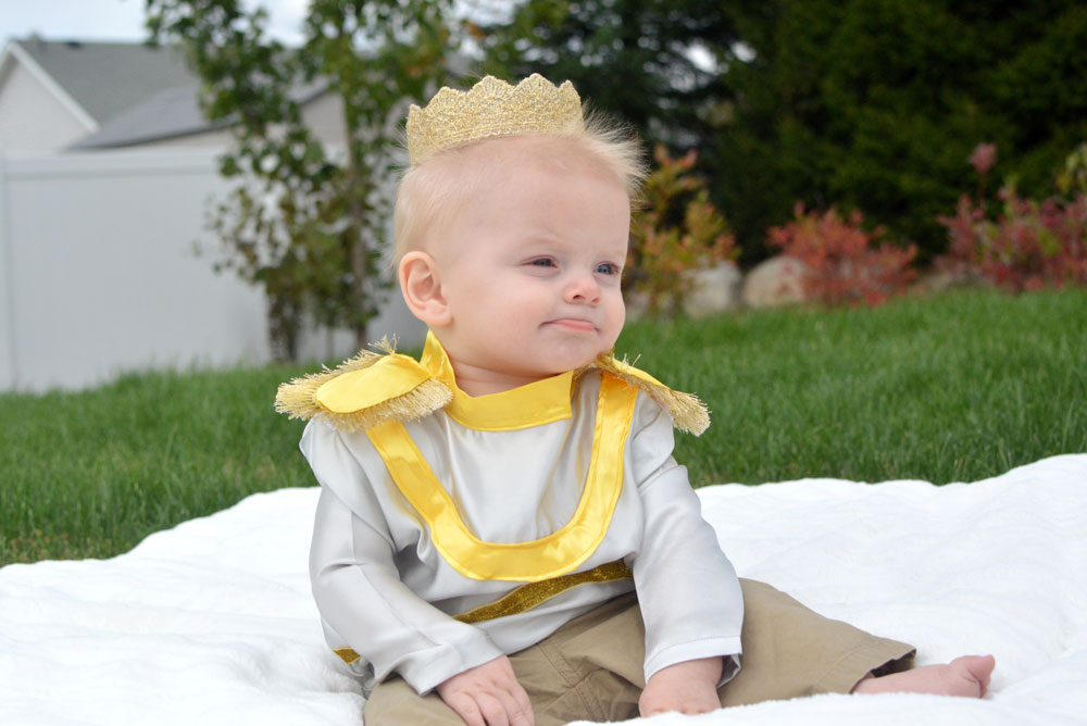 Prince Charming DIY Baby Halloween Costume