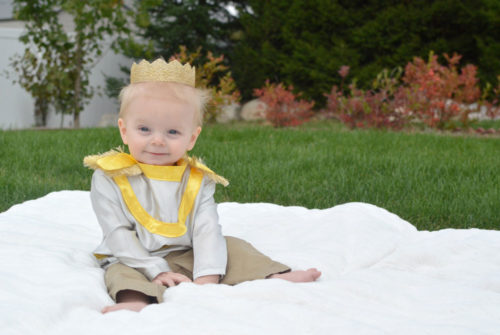 Baby boy homemade Little Prince costume - Mommy Scene