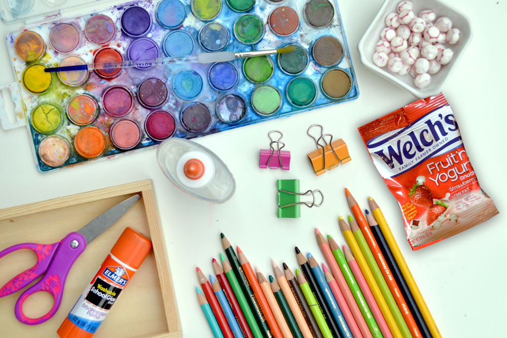 Back To School Supplies & Go-To Snacks