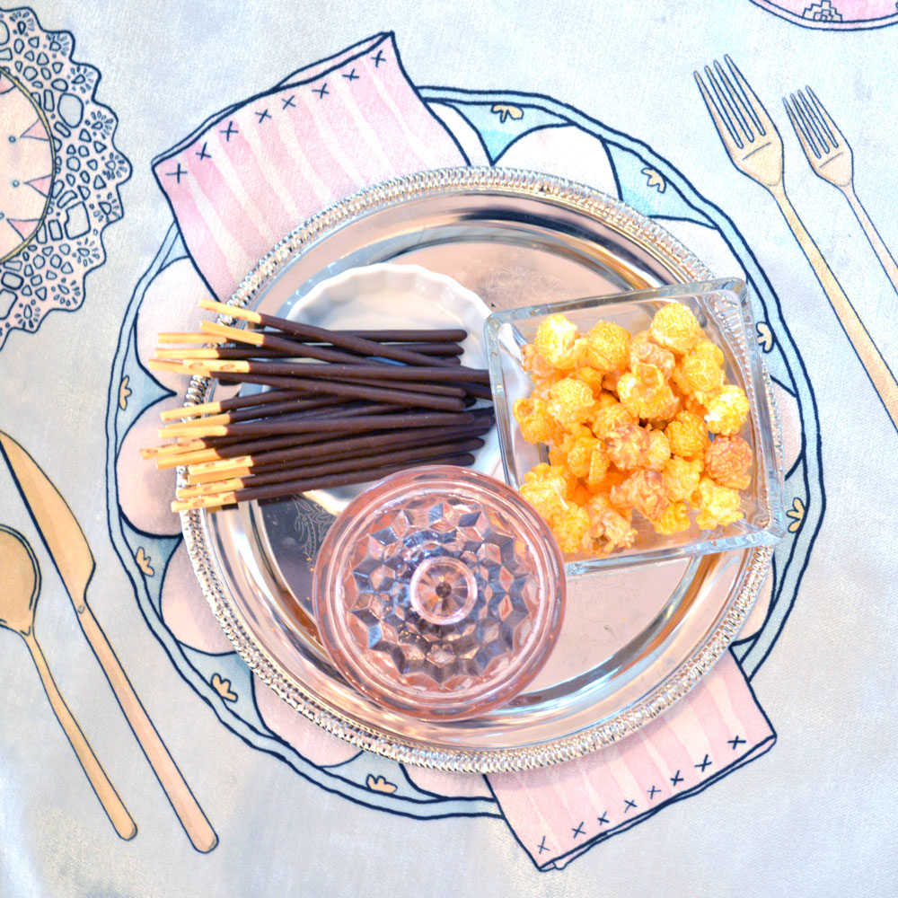Teach Kids Manners with a Tea Party Snacktime
