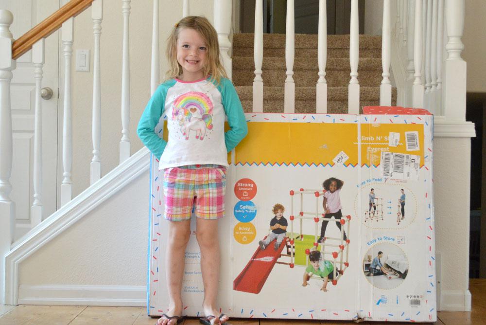 Lil' Monkey Climb N Slide indoor kids activity