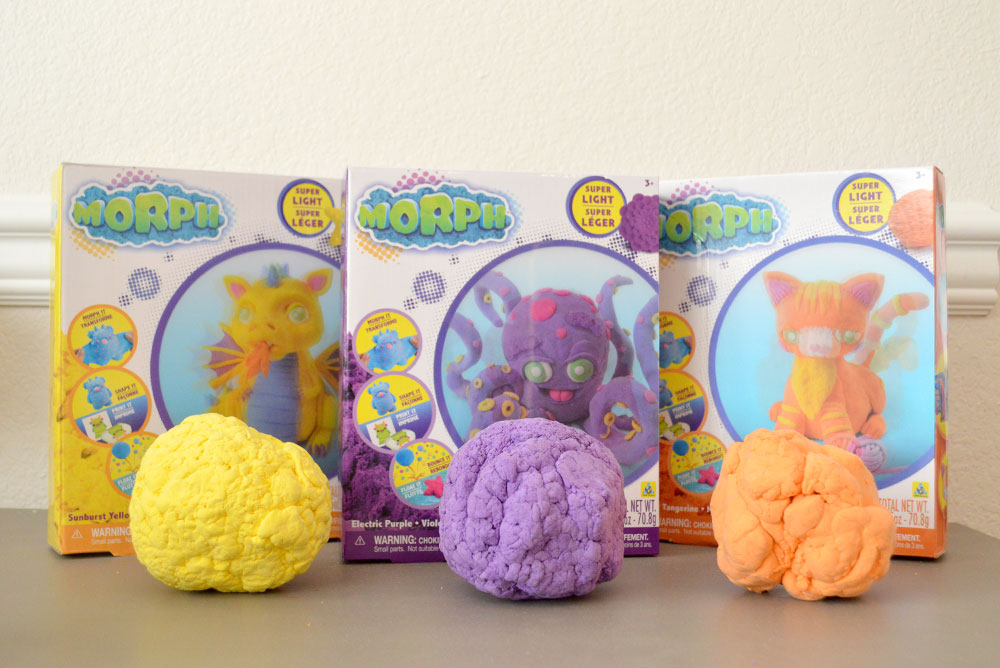 Morph shape shifting fluff by Orb Toys