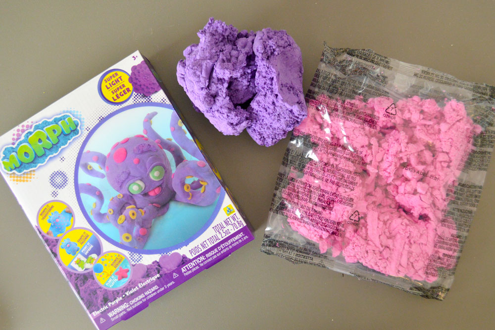 Morph shape shifting fluff for kids by Orb Toys width=