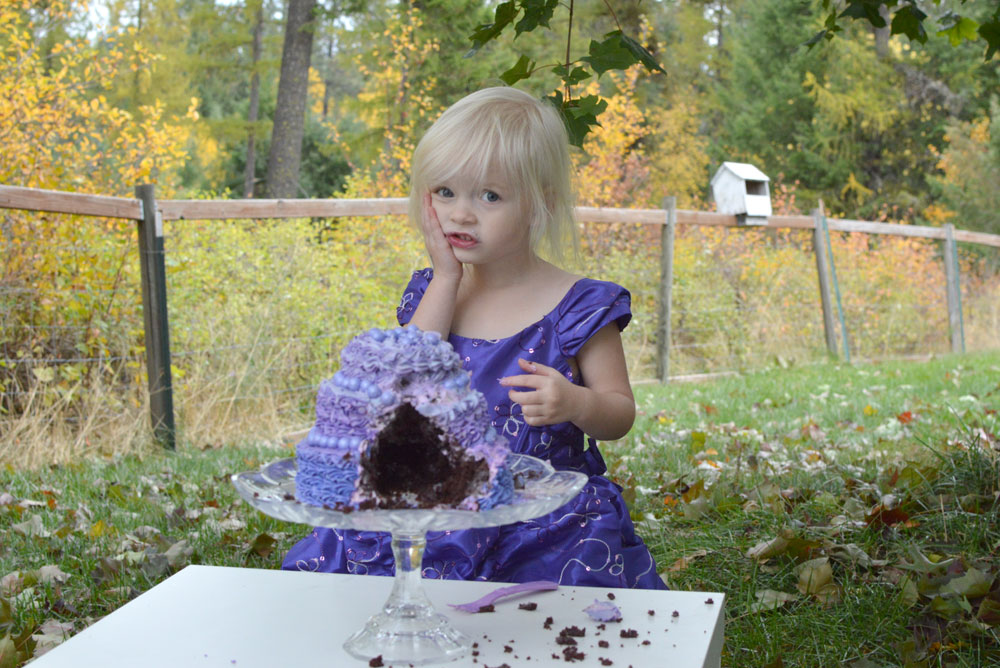 Toddler girl birthday cake smash Just Unique Boutique