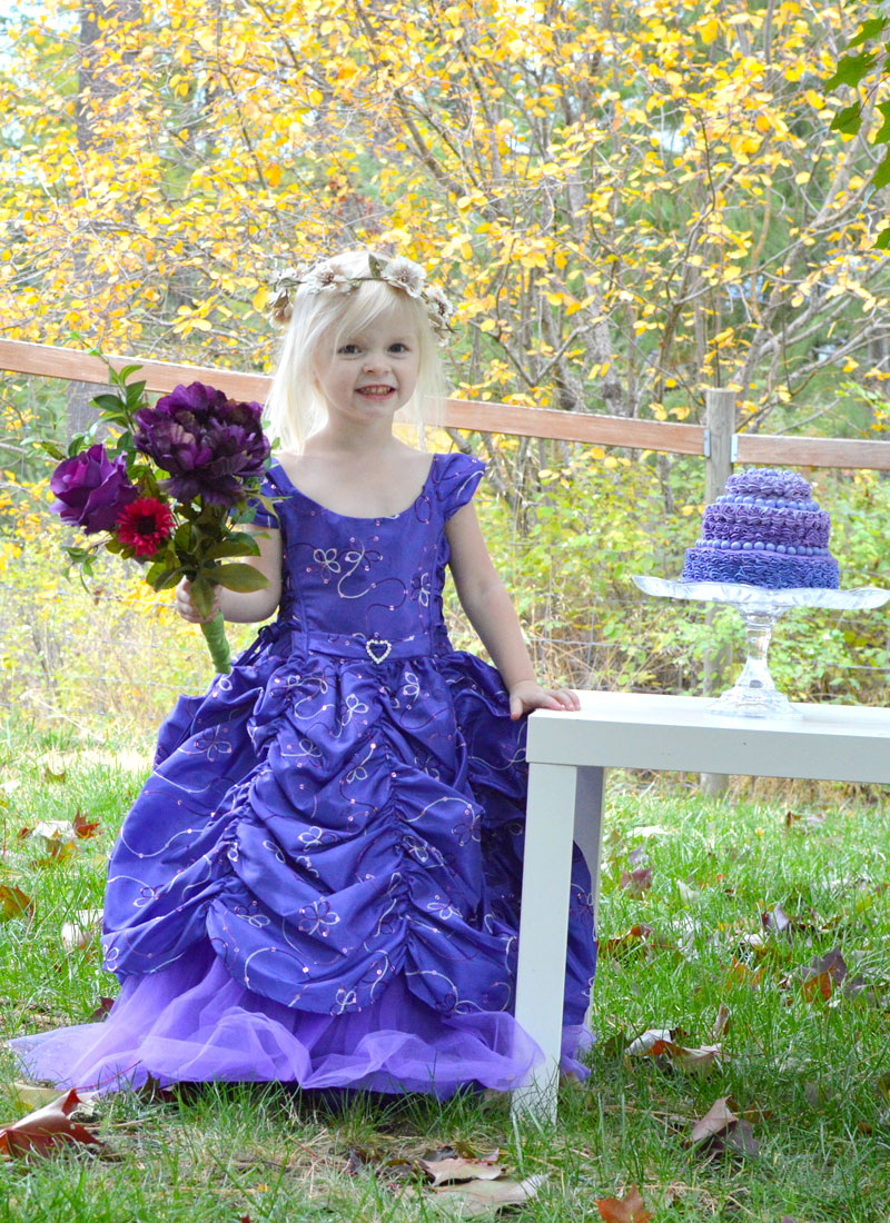 Purple themed princess birthday party ideas for kids