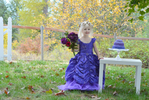 Purple themed princess birthday party for kids - Mommy Scene