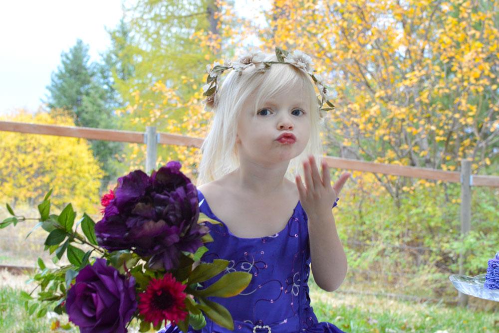Purple party dress Just Unique Boutique
