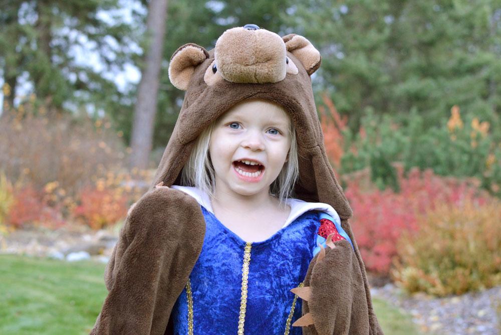 Wild Things Animal Blankets bear design for kids