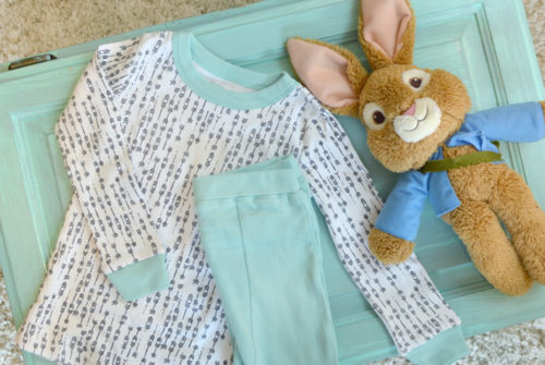Modern Organic Cotton Kids PJs - Mommy Scene