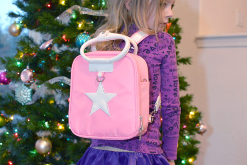 Cute Gabby Box pink star backpack for girls - Mommy Scene