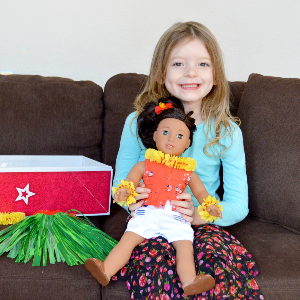 Meet American Girl Nanea Mitchell + Doll Review