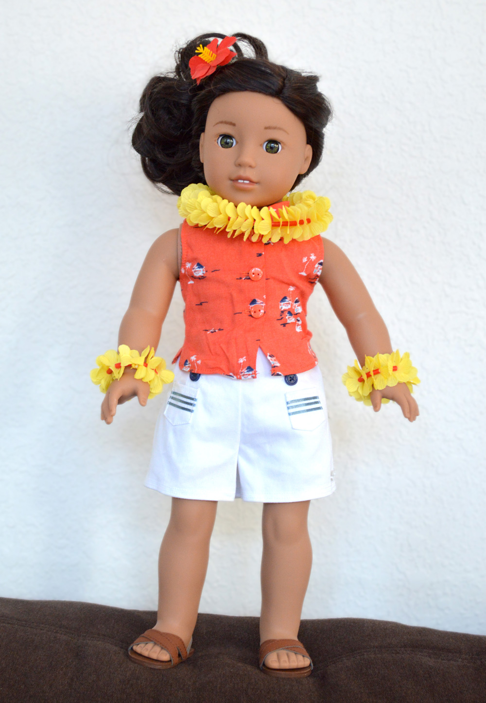 Nanea Mitchell American Girl Doll and Outfit