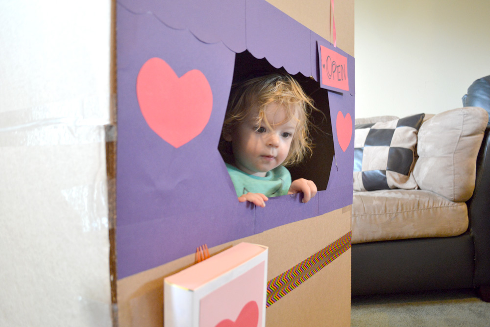 Cute Kids' Valentines Day Post Office