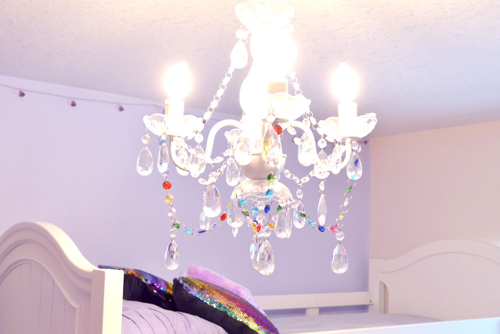 Cute Kids Room - Install decorative colorful lighting