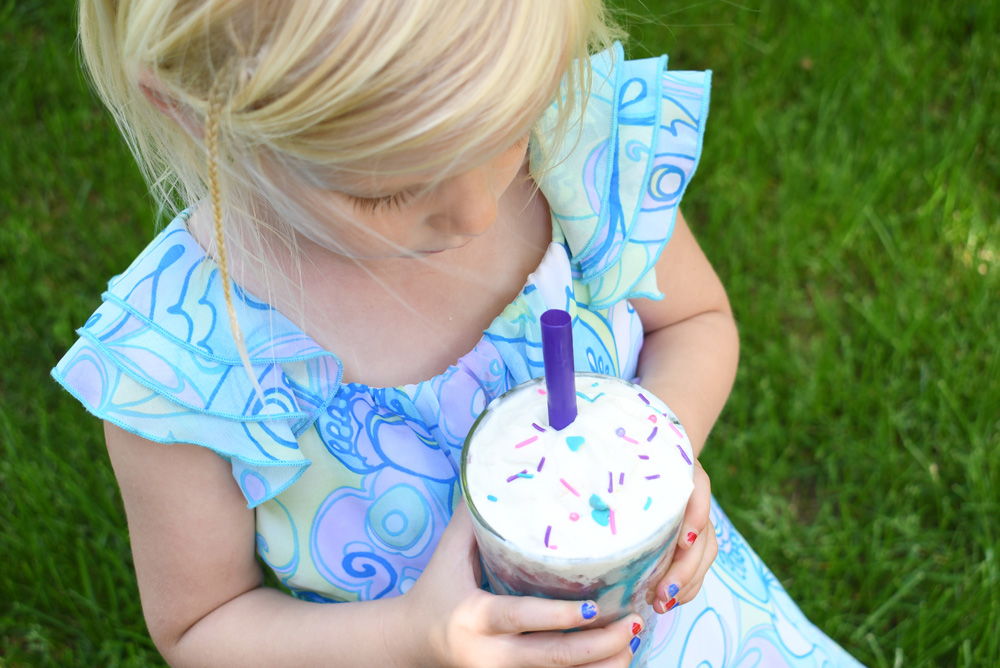 Fruit Unicorn Smoothies for kids