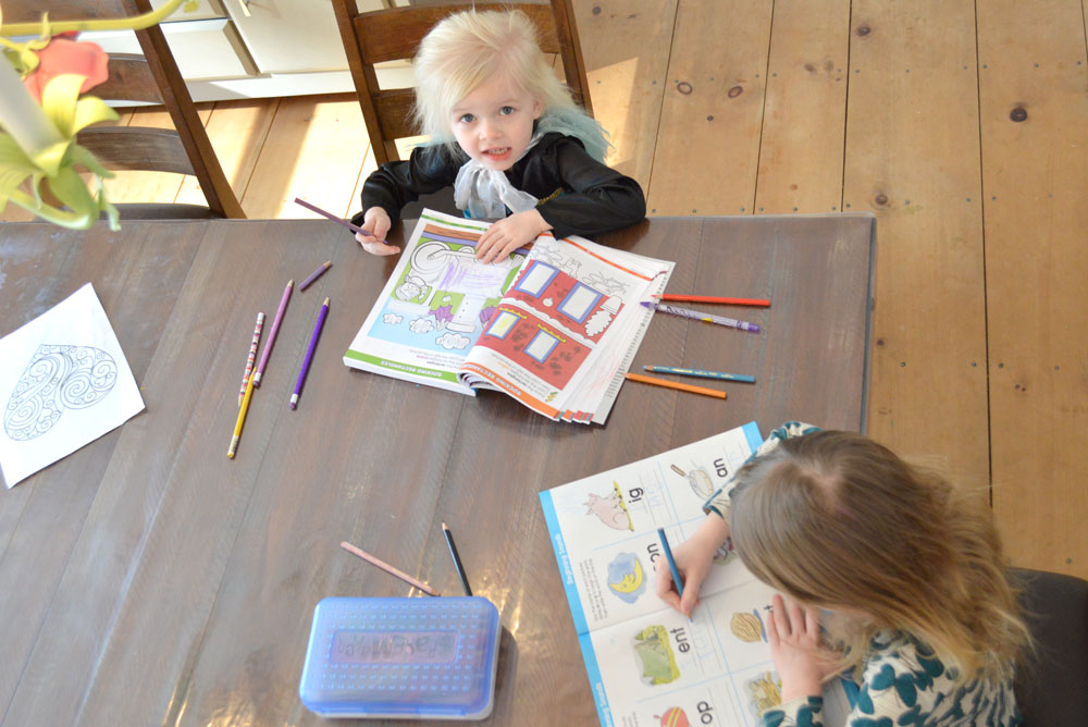 How To Entertain A Toddler During Homeschool Create