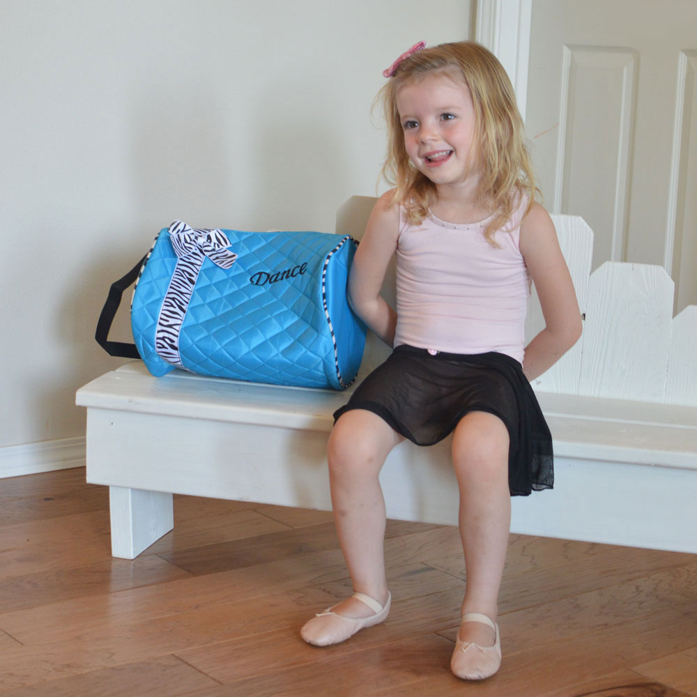 Just Unique Boutique dance bag for little girls