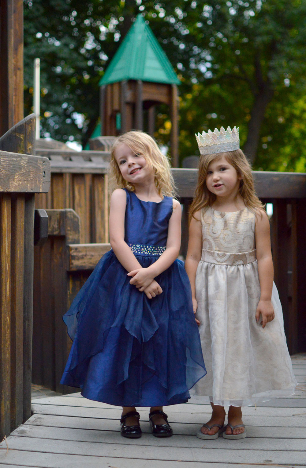 Just Unique Boutique princesses at the park