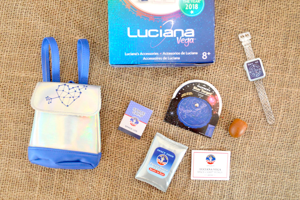 Luciana Vega American Girl doll space accessories