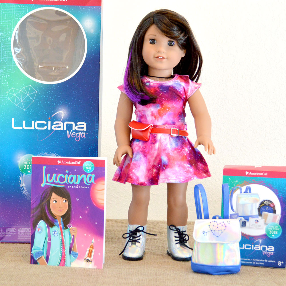 Meet American Girl Luciana Vega + Doll Review