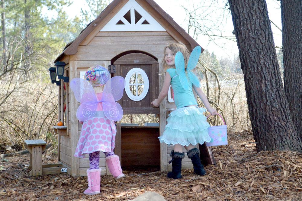 Easter egg hunt family activity