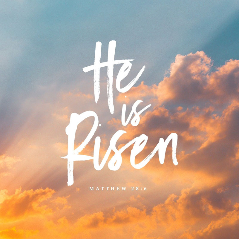 Jesus is Risen Easter Celebration Ideas